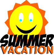 Happy Summer Vacation! (We are on Summer Vacation)