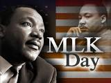 Ministry Holiday - Happy MLK Day!