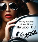 Mauro Dj @ Vespa GZ Every friday in march