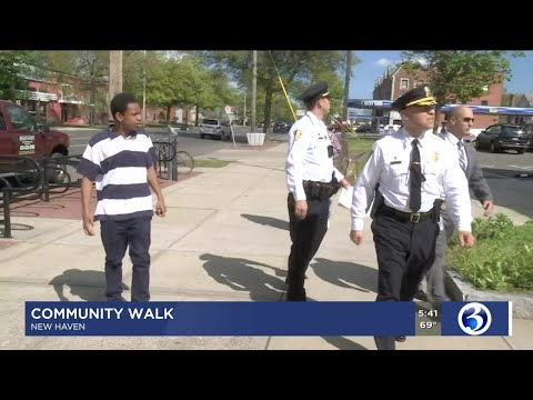 VIDEO: New Haven police, community members work to build relationships