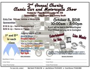 2nd Annual Charity Classic Car & Motorcycle Show -Covington, GA