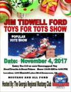 Jim Tidwell Ford Toys for Tots Show - Georgia Regional Mustang Club