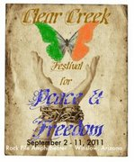 1st Annual Clear Creek Festival for Peace and Freedom