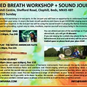 SACRED BREATH WORKSHOP + SOUND JOURNEY