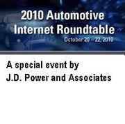 J.D. Power and Associates 2010 Automotive Internet Roundtable