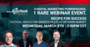 Webinar: Recipe for Success (Tactical Advice for Growth in a Flat or Down Market)