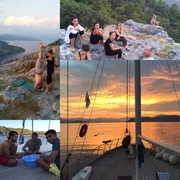 Yoga Cruise and Hiking in the Aegean Sea