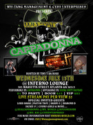 13th JULY Cappadonna Live in ATL at INFERNO