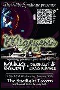 Vibe Syndicate pres: Mizeyesis, MungBandit, Dinoblunt, Sidous & Lori's Birthday Bash!