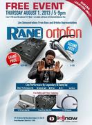 FREE DJ EXHIBITION SPONSORED BY RANE & ORTOFON W DJ JAZZY JAY & DJ INTRIGUE