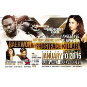 RAEKWON AND GHOSTFACE AT THE VAULT 1/10 HOLLYWOOD FL
