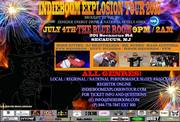 EXPLOSION TOUR KICK OFF!!! 4TH OF JULY!!! INDEPENDENCE DAY!
