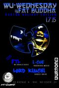 Wu Wednesday @ Fat Buddha - NYC - 1-7-15
