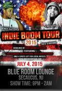 Bahloo Smurf Performing Live @ INDIE BOOM TOUR 2015 KICK OFF!!! 4TH OF JULY HIP HOP PARTY