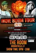 """Bahloo Smurf Performing Live @ """"INDIE EXPLOSION TOUR 2015"""" The Room, Brookfield CT"""