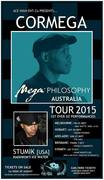 CORMEGA AUSTRALIA TOUR FEATURING STUMIK OF ICE WATER