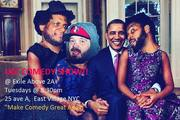 UG! COMEDY SHOW!! Now @ Exile Above 2A: Tuesday Feb. 7th, 2017 ed.
