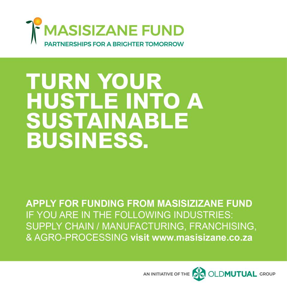 South African farmers, Apply for funding at Masisizane