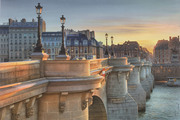 L'heure d'or sur le Pont Neuf