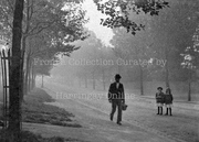 Misty Summer Morning, Priory Road, Hornsey c1900