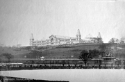 Ally Pally Looking across Race Course c1900