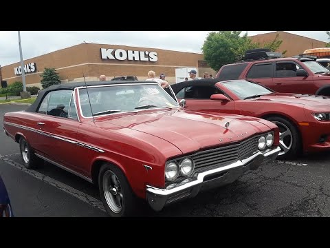 Checking Out Classic Cars With Pam 1965 Buick Skylard Convertible
