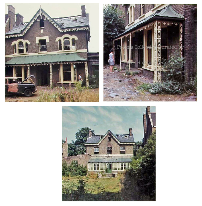 'The Limes', Crouch End Hill | Before Demolition, 1969