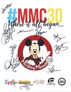 All New Mickey Mouse Club 30th Anniversary Reunion signed IP May 18, 2019