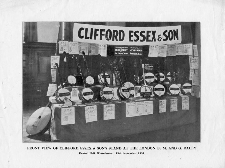 Clifford Essex stand 1931