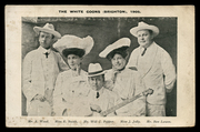 white coons 1905
