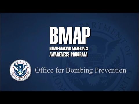 Department of Homeland Security Bomb Making Materials Awareness Program