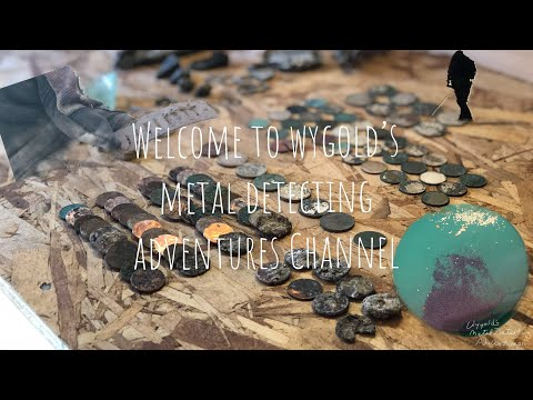 Welcome to wygold's metal detecting adventures YouTube Channel