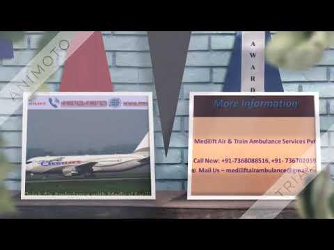 Take Medical Emergency Air Ambulance Service in Varanasi