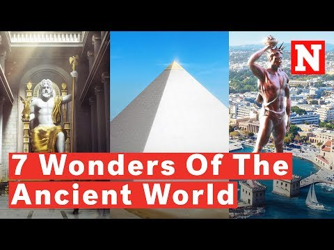 The 7 Wonders of the Ancient World, Digitally Reconstructed