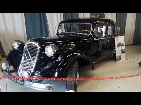 Checking Out Classic Cars With Pam  Citroen Traction Avant To SM With Carl