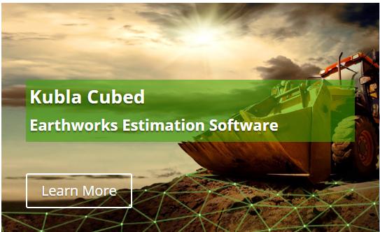 Kubla Cubed Earthworks Estimation Software