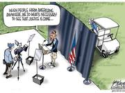 Obama Speech then Golf