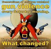 Gun Violence What Changed?  I think you know.