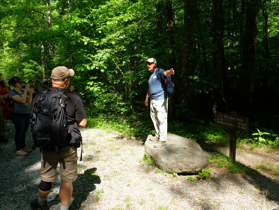 GoSmokies Hike, May 19, 2019, Greenbrier