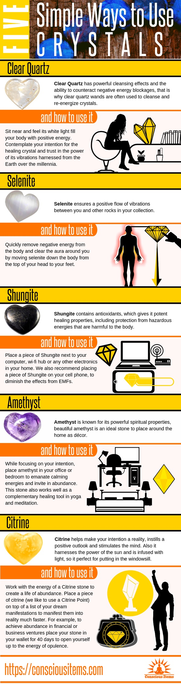 5 Simple Ways to Use Crystals
