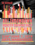 Art Throwdown and Monster Drawing Rally