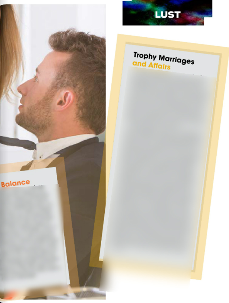 Trophy Marriages and Affairs