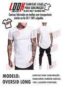 camisas lisas para sublimação e silkscreen