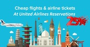 Avail Great Discounts at United Airlines Reservations to Book Tickets