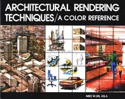 Book: Architectural Rendering Techniques by Mike Lin