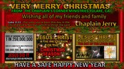 CHAPLAIN'S CORNER MINISTRIES TULARE, CA  ON FACEBOOK THE OFFICIAL CHRISTMAS CARD 2017