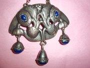 georg jensen necklace 1915-1927 antique lapis lazuli