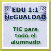 EDU 1:1 - tIcGUALDAD. TIC para todo el alumnado