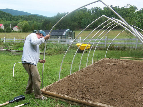 building a hoophouse