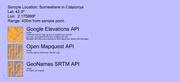 Elevations API Comparisons